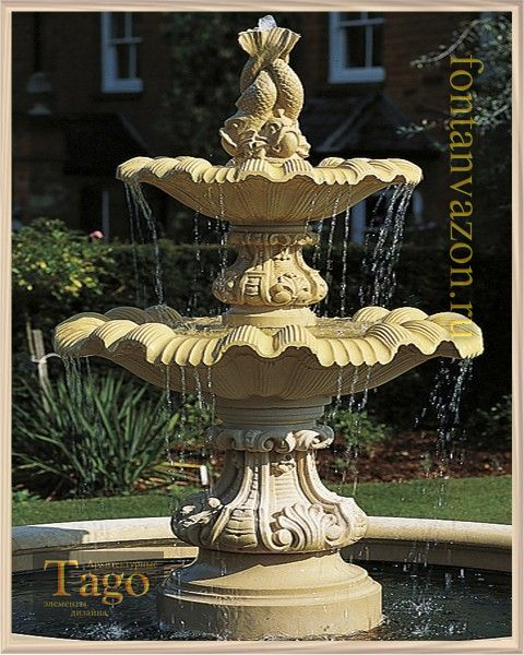 Neapolitan Large Double Fountain